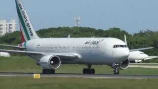 [SBFZ/ FOR] Pouso Completo RWY13 Boeing 767-23BER I-AIGH Air Italy 10/05/2013