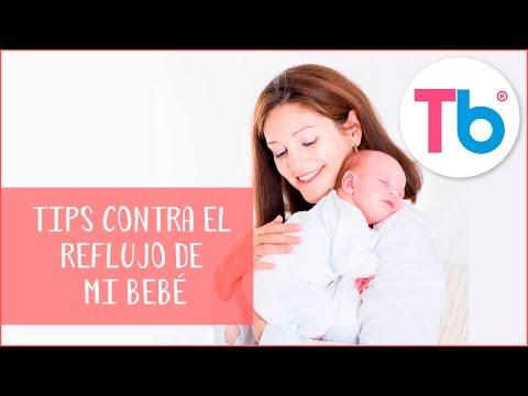 Cómo aliviar el reflujo de mi bebé | Consejos para evitar el reflujo de mi bebé | Todobebé