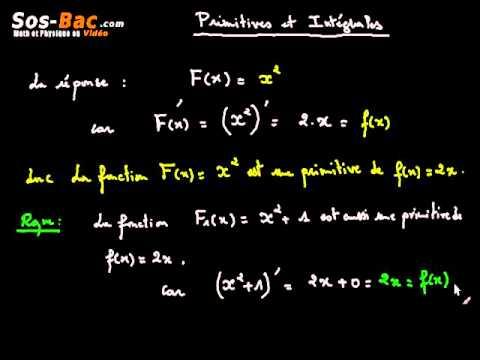 primitives et intgrales cours 1 youtube - Resume Cours Science Bac Tunisie