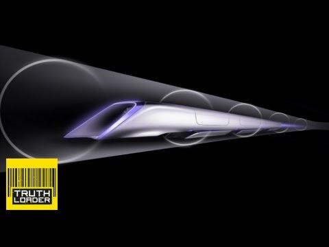 Hyperloop - ultra high-speed public transport unveiled by Elon Musk - Truthloader