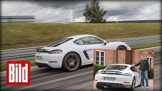 Porsche 718 Cayman - So fährt der Cayman mit Vier-Zylinder-Boxer (test/hq)