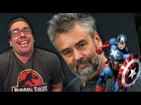 Luc Besson Doesn't Like Superhero Movies. Calls Captain America Propaganda.