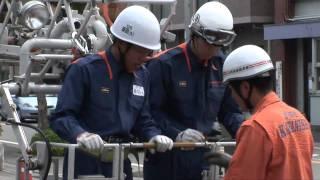 【川西市公式】新人消防隊員の挑戦!(前半)