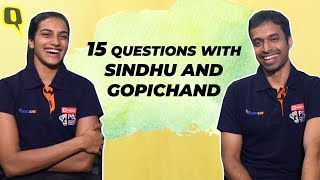15 Questions With Pullela Gopichand & PV Sindhu | The Quint