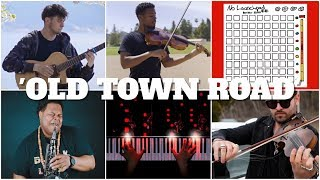 Who Played It Better: Old Town Road (Guitar, Piano, Violin, Saxophone, Electric Violin, Launchpad)