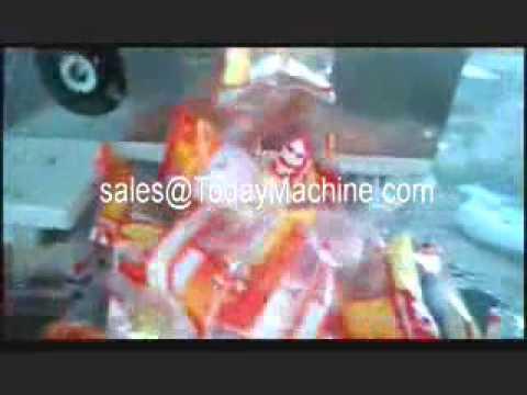 juice filling and sealing packaging machine,Single lane Vertical Form fill seal machine
