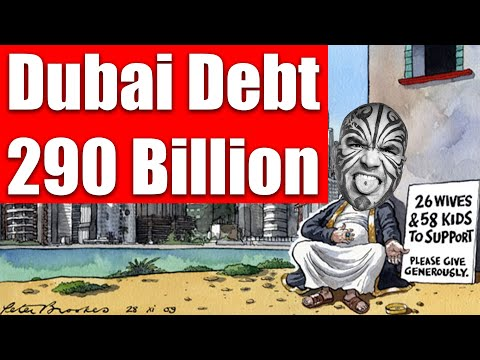 Video #3911 - Dubai Debt Is 290 Billion....But UAE Media Doesn't Talk About It