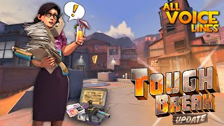 TF2: The Tough Break Update [All Voice Lines/Miss Pauling]