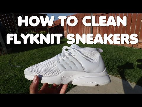 How to Clean Flyknit Sneakers in 3 EASY STEPS! (White Shoes Especially)