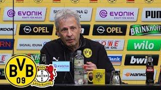 Pressekonferenz nach dem Spiel | BVB - Bayer 04 Leverkusen 3:2