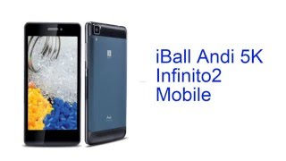 iball andi 5k infinito2 mobile specification india