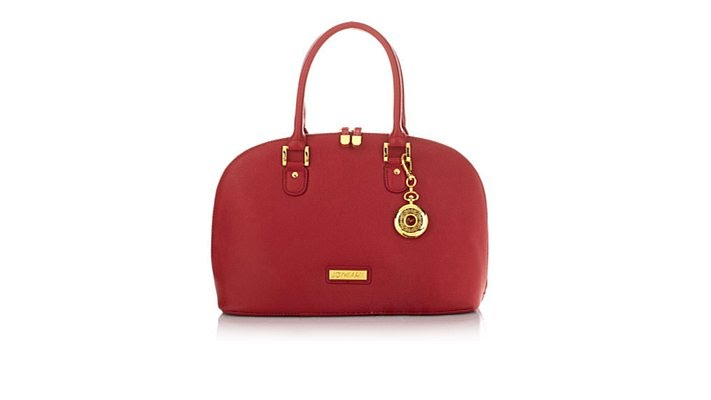 Joy IMAN 22Section Luxe Genuine Leather Handbag Watch - YouTube c5f0a4904b