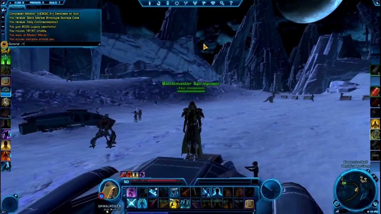 endgame pve in ilum guide daily commendations swtor youtube rh youtube com SWTOR Game Art SWTOR Game Time Card