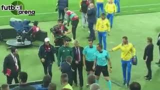 Луческу после матча напал на арбитров