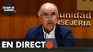 🔴 DIRECTO   Rueda de prensa, actualización situación epidemiológica CMA