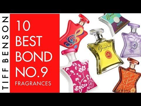 TOP 10 BEST BOND NO 9 PERFUME  | 10k Subscriber Giveaway | BOND NO 9 FRAGRANCES