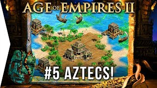 I'm still learning! - Age of Empires 2 HD ► #5 The Boiling Lake - [Aztec Campaign Gameplay]