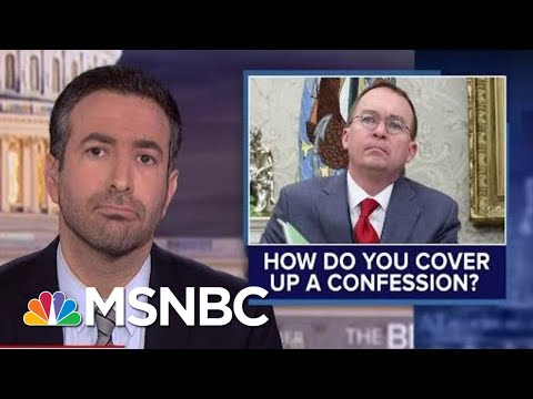 Impeachment Circular Firing Squad? See Trump's Allies Turn On Aide Who Admitted Ukraine Plot | MSNBC