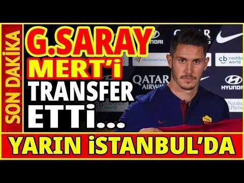 Galatasaray Roma Ile Anlaştı Ve Mert Çetin'i Transfer Etti... Youtube