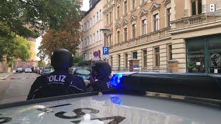 Schüsse in Halle: Mindestens zwei Tote