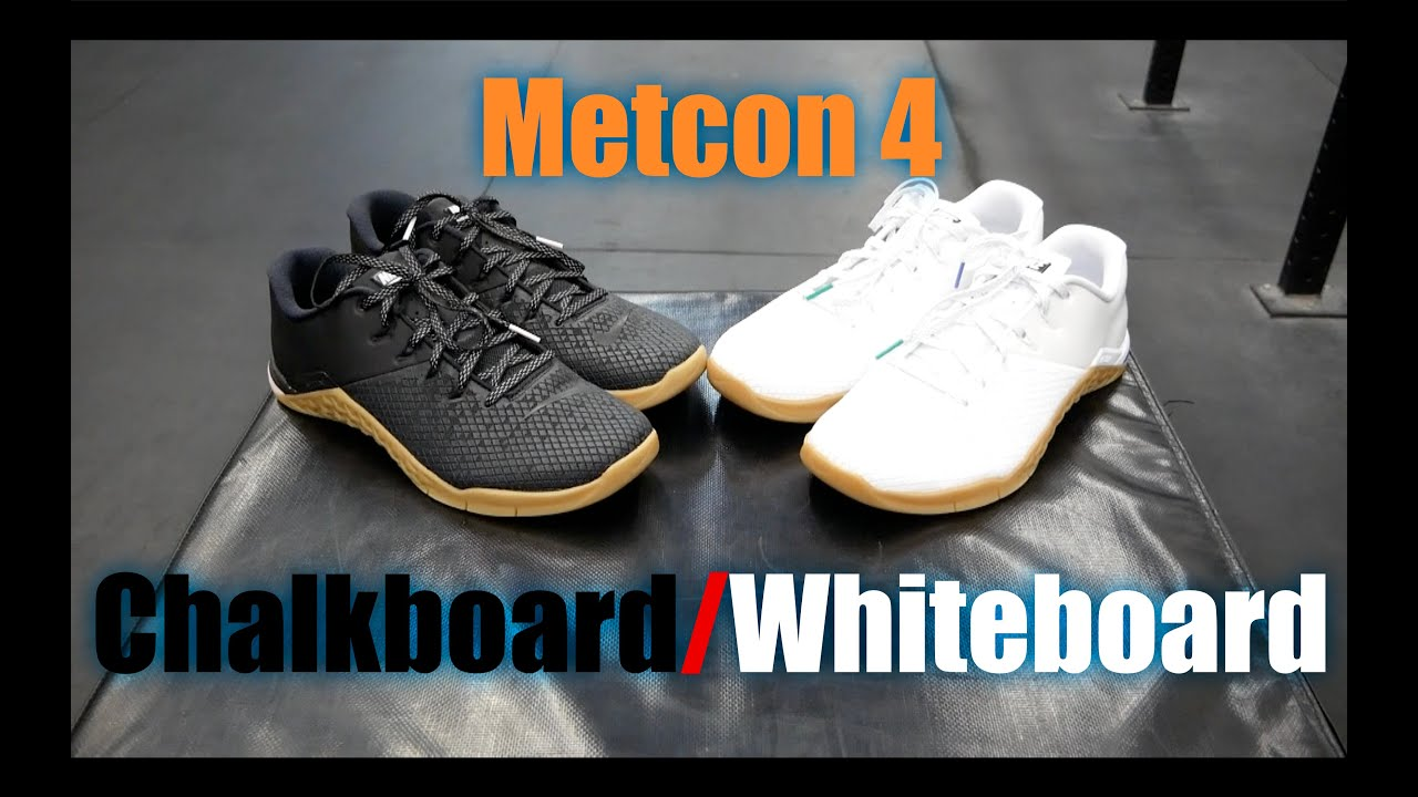 c7bdeaaef6ec Nike Metcon 4 Chalkboard Whiteboard TEST! - YouTube