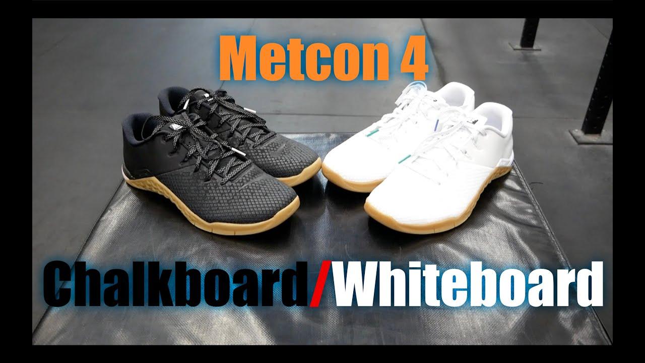 183ac3e26592b Nike Metcon 4 Chalkboard Whiteboard TEST! - YouTube
