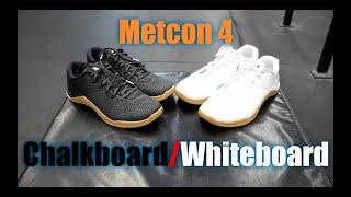 Nike Metcon 4 Chalkboard/Whiteboard