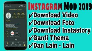 Gambar cover Instagram Mod 2019 Terbaru, Bisa Ganti tema, Download Video Dan Download Story