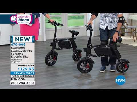 Swagtron SwagCycle Pro Foldable Electric Bike