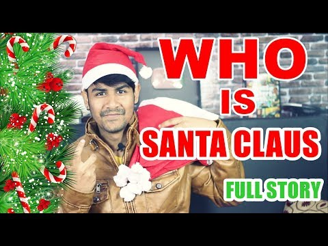 Who is Santa Claus ?   Story Behind Santa Claus and Saint Nicholas   SAGAR KI VANI