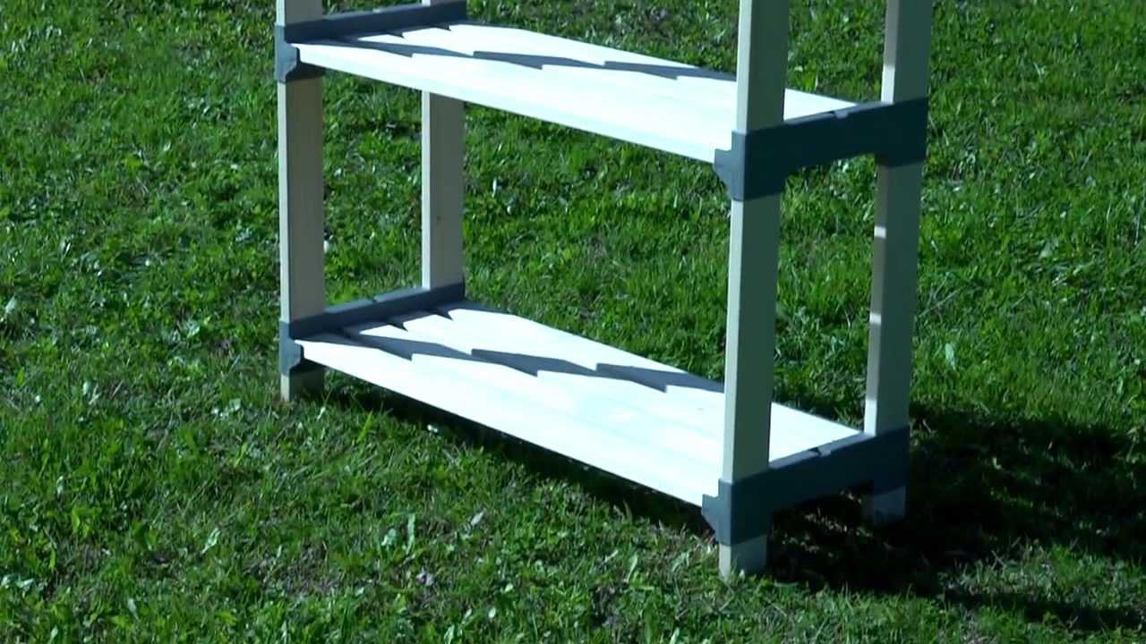 Costruire uno scaffale in ferro. applicare ante a una libreria with