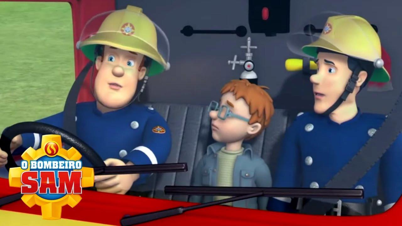 Norman ajuda em uma missão! ⭐️ O Bombeiro Sam | Resgate de bombeiro | Desenhos