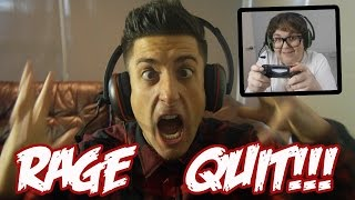 RAGE QUIT!!! RAP BATTLE
