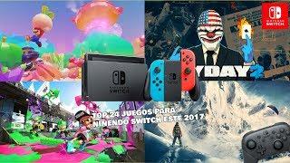 Top 24 de juegos para nintendo Switch este 2017