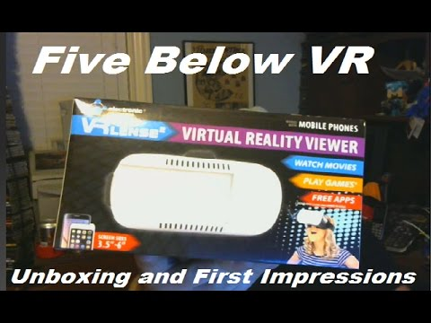 Five Below VR Unboxing and First Impressions