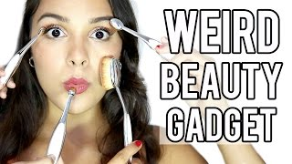 test it out weird beauty gadgets artis brushes