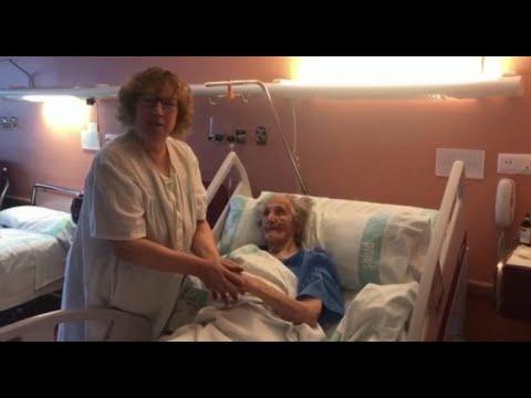 بعُمر يناهز الـ 101 عام مُسنة تقهر فيروس كورونا  - نشر قبل 3 ساعة