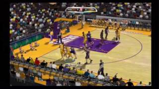 NBA 2K10 (Wii) Gameplay: Lakers vs. Suns (480p/HD)