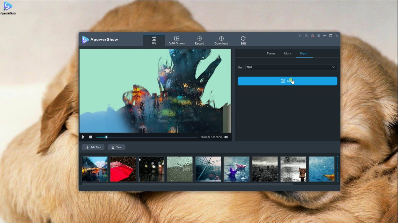 how to create a video with pictures and music free