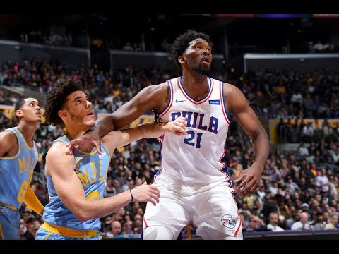 Joel Embiid | Highlights vs Lakers (10.15.17) 46 Pts, 15 Rebs, 7 Asts, 7 Blks