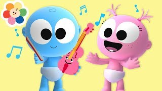 Laughing With Funny GooGoo \u0026 GaaGaa Baby | Violin Music for Babies + More Musical Instruments Sounds