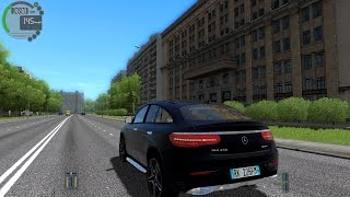 City Car Driving 1.5.2 Mercedes-Benz GLE45 AMG TrackIR 4 Pro [1080P]
