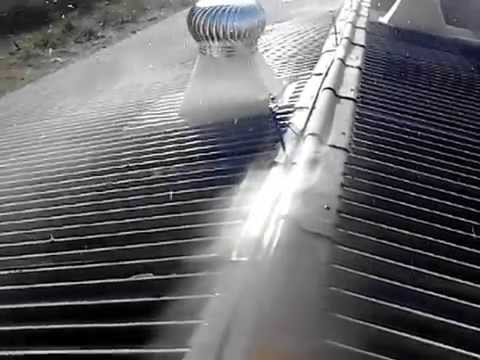 Poultry Roof Cooling System Youtube
