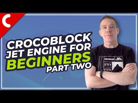 Crocoblock Jet Engine Tutorial - Beginners Guide Part 2 - Taxonomies