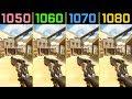 Overwatch GTX 1050 Ti vs. GTX 1060 vs. GTX 1070 vs. GTX 1080 1080p