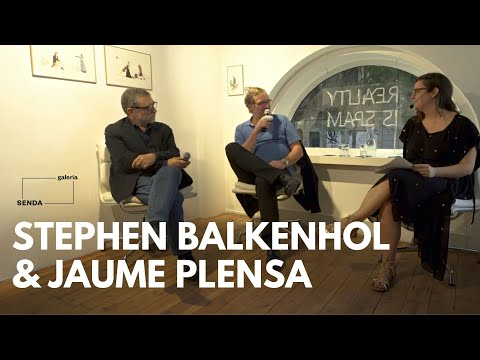 Stephan Balkenhol and Jaume Plensa  talk about Sculptures and Public Space