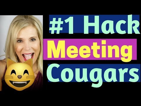 A Cougar's Guide For Meeting & Dating Older Women - My #1 Best Secret To Getting A Date With Her