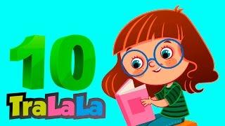 DE LA 1 PANA LA 10 - Cantece pentru copii - TraLaLa