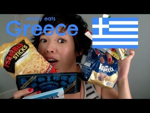 Emmy Eats Greece - tasting Greek snacks & sweets