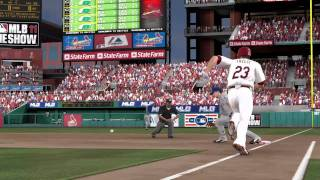 MLB 11: The Show baseball game trailer - PS3 exclusive